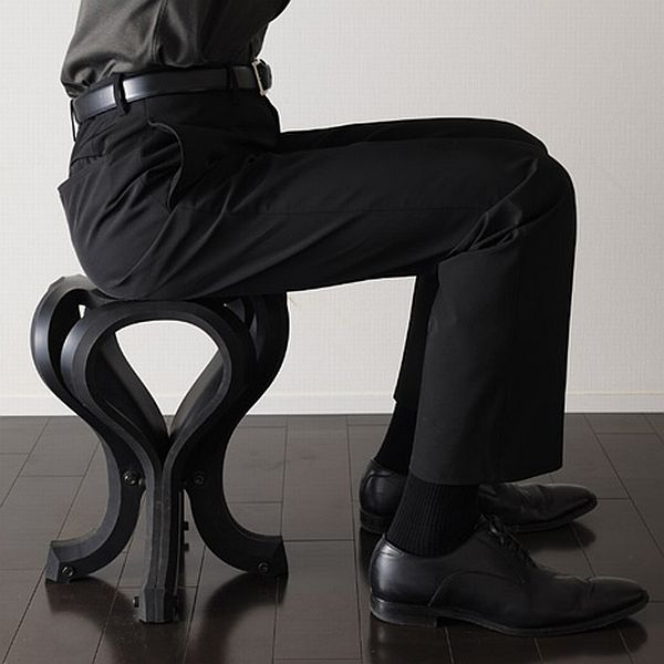 Eco-friendly rubber chair 4