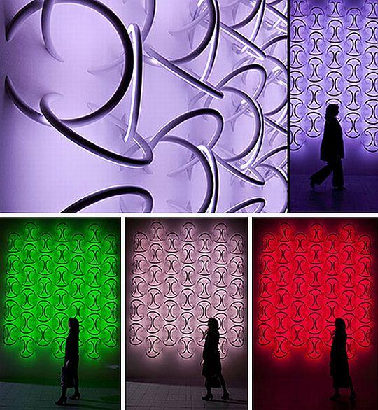 Halo shaped LED Light fixtures 4