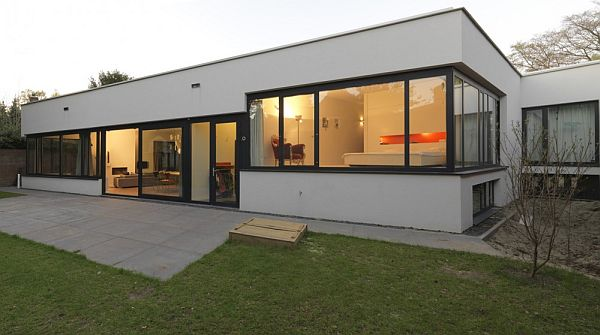 Modern Villa Eindhoven 1 Modern Villa Eindhoven hidden from view