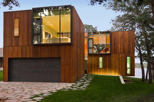 Modern Wooden House On Lake Okoboji