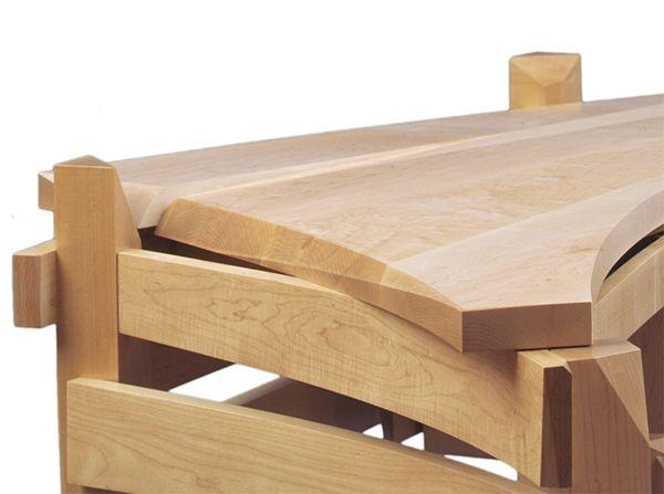 Solid wood desk 3