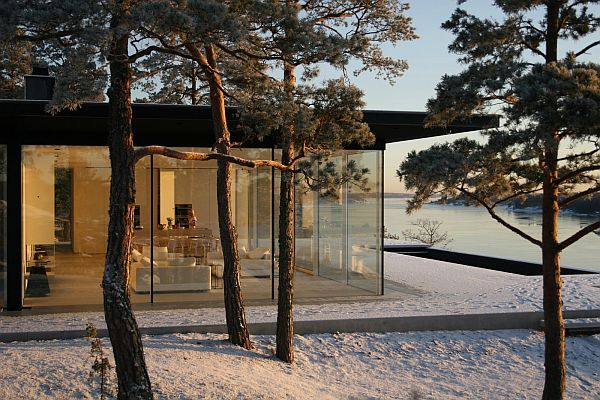 Stunning Swedish House With Lake Views 2 James Bonds House: Stunning Swedish Villa With Lake Views