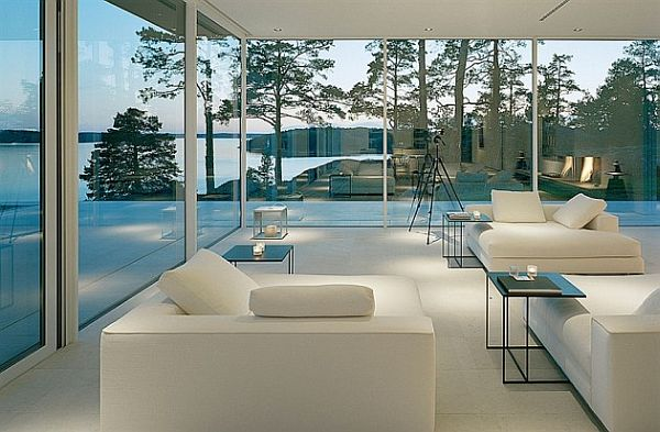 james bond s house stunning swedish villa with lake views log cabins with log post inside house post pictures
