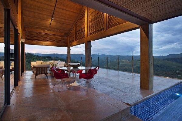 Weekend Getaway Mountain House in Brazil 5