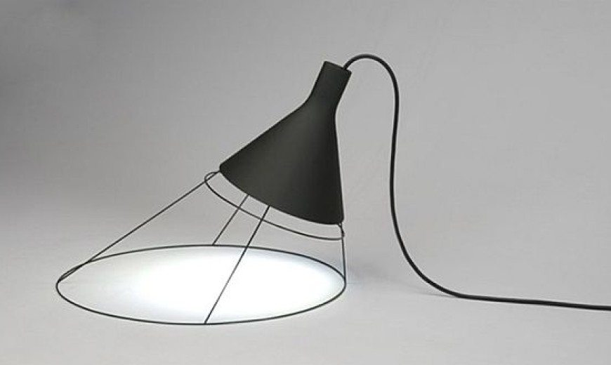 Korean Designed Lamp that Incarcerates Light