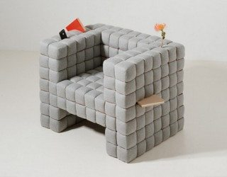 """Lost In Sofa"" chair by Daisuke Motogi"