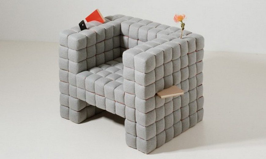 """Lost In Sofa"" chair by Daisuke Motogi"