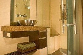 bathroom modern redecoration