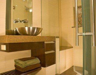 bathroom modern redecoration