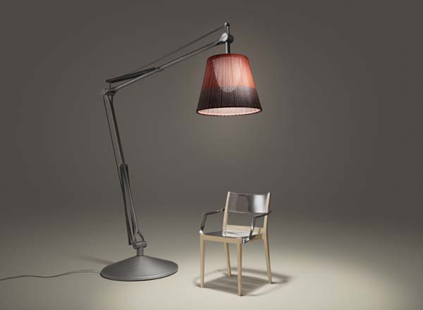 wicker lamps