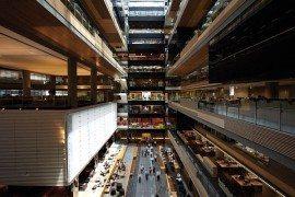 ANZ Centre in Melbourne Looks Like a Massive Urban Campus