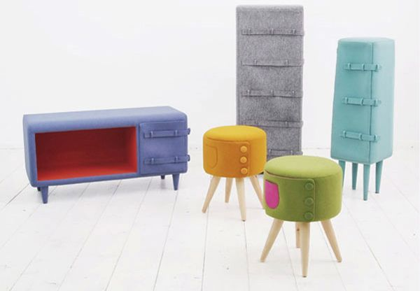 Button Up furniture from Kam Kam 2 Cute and playful Button Up furniture series from Kam Kam