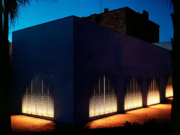Casa Puglia by Peter Pichler 1 Contemporary sleek home with gorgeous perforated shutters (Casa Puglia by Peter Pichler)