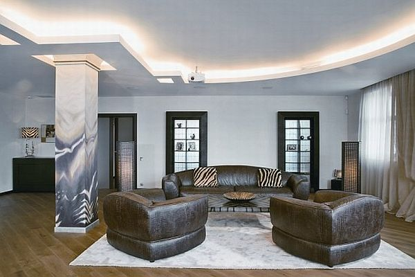 Contemporary apartment with African decorations 2