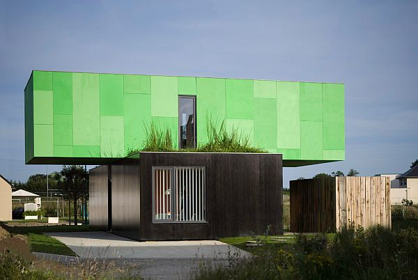 Home in France by CG Architects 2 Cozy and Bright Home in France by CG Architects (Crossbox House)