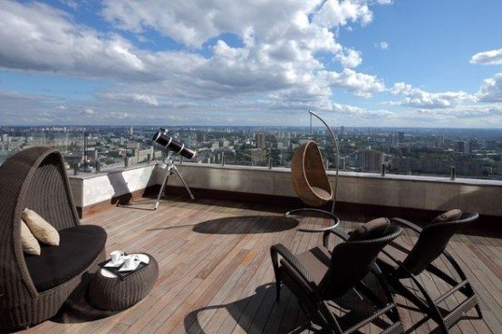 Luxury penthouse apartment Moscow 3