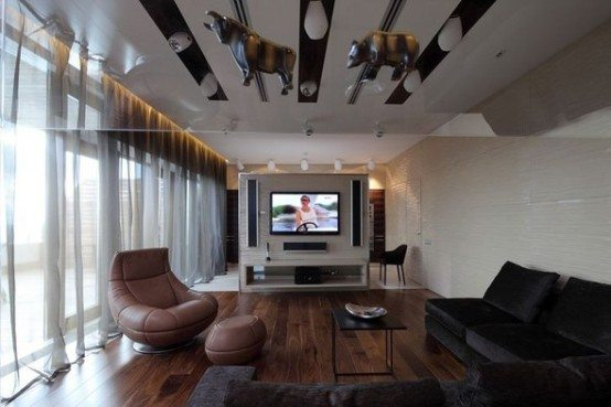 Luxury penthouse apartment Moscow 5