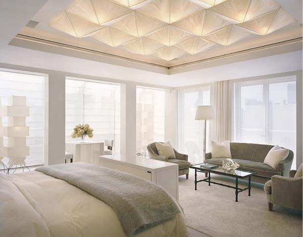 Shelton Mindel and Associates 2 Chic and contemporary apartment in neutral colours