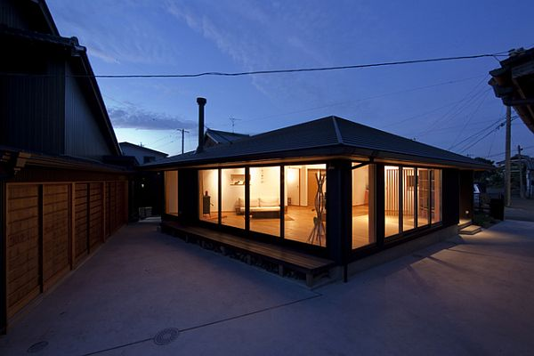T House Residence 1 Modern Residence With Traditional Japanese Architectural Inspiration