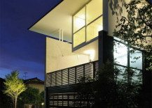T house in Kyoto: fascinating space configuration