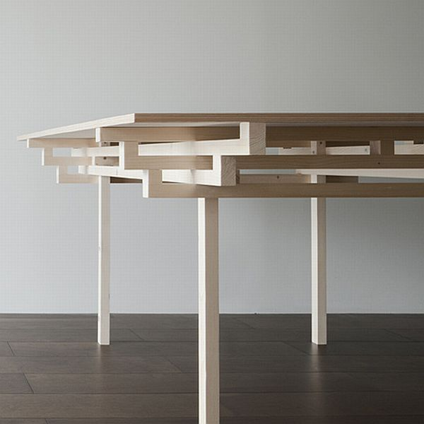 Temple Table by Hiroyuki Tanaka Architects 5