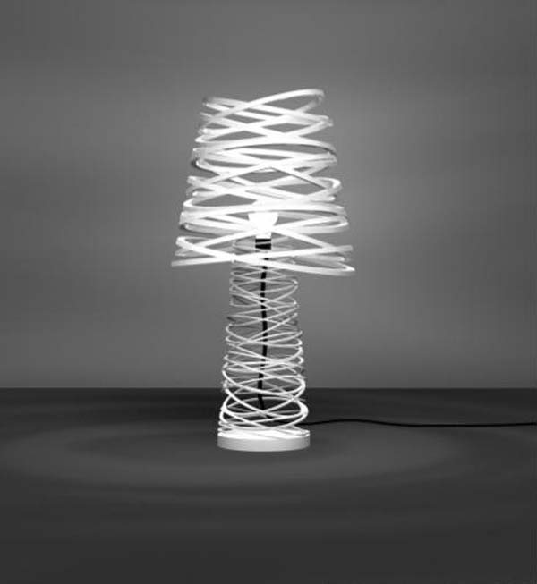 curl my light modern lighting table lamps dima loginoff metallic curls