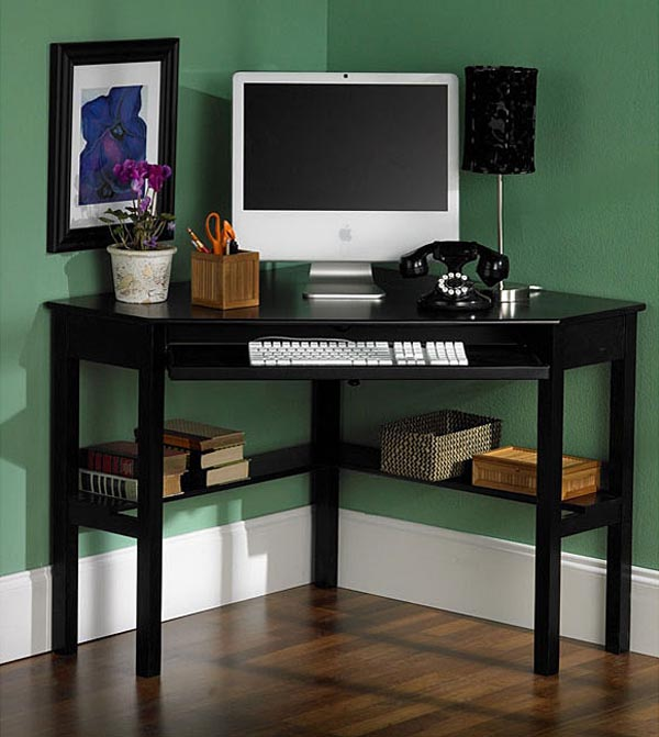 15 Awesome Home Office Designs To Boost Your Productivity: 5 Corner Desks For The Office