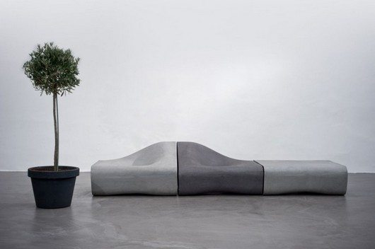 dune 2 Organic and innovative Dune bench