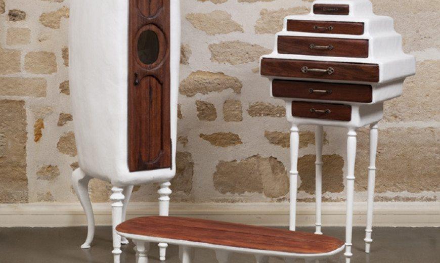 Artistic furniture design by Valentin Loellmann