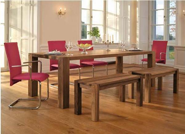 The beauty of oak furniture