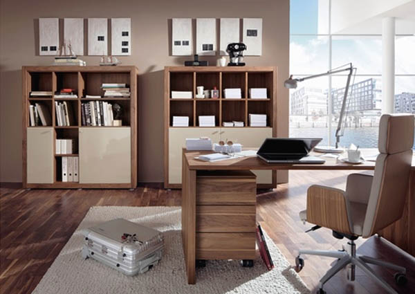 office furniture office desk from hulsta Contemporary Office Furniture: 5 Things You Need