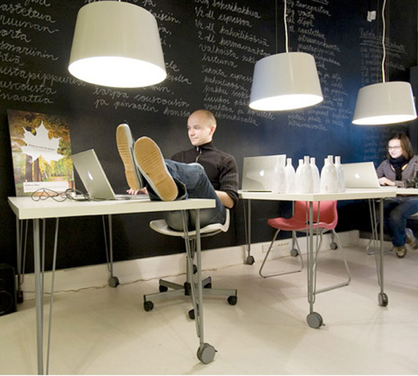 Interior Designers Working Conditions 7 office interiors that make you wanna go to work
