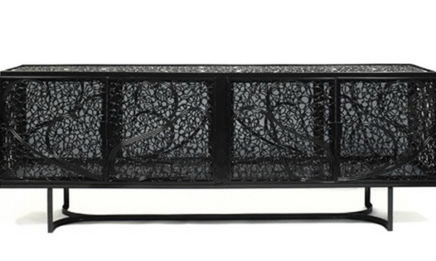 Elegant and artful Black Pearl furniture