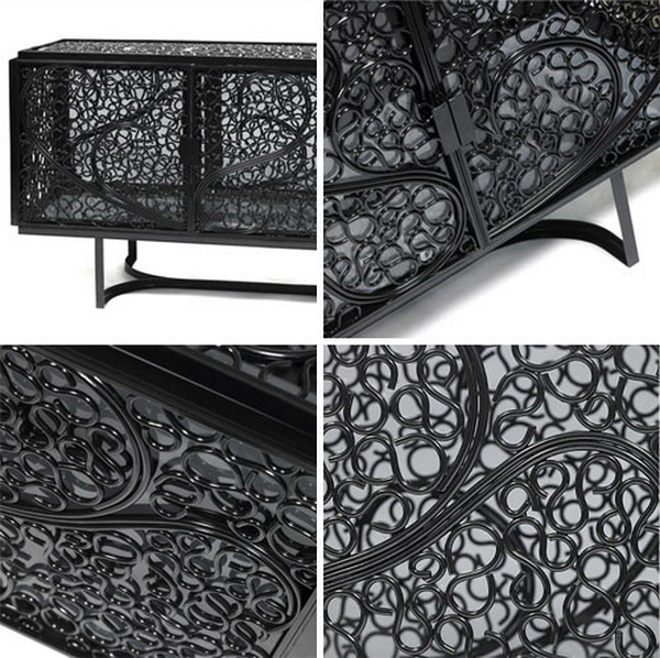 pearl2 Elegant and artful Black Pearl furniture