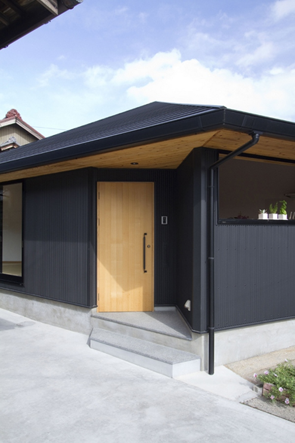 pentagonal house both modern and traditional