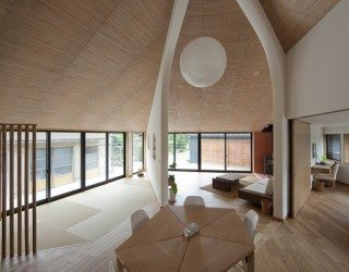 Pentagonal House, both modern and traditional