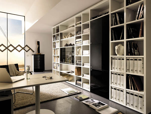 contemporary office furniture 5 things you need. Black Bedroom Furniture Sets. Home Design Ideas