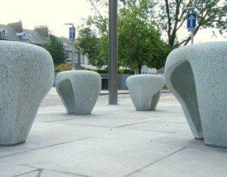 Streetwalk feelings: urban furniture concept