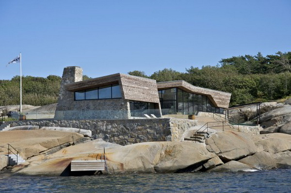 vestfold 2 Cutting edge modern summer house in Norway