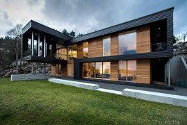 Scandinavian modern dream house by the sea