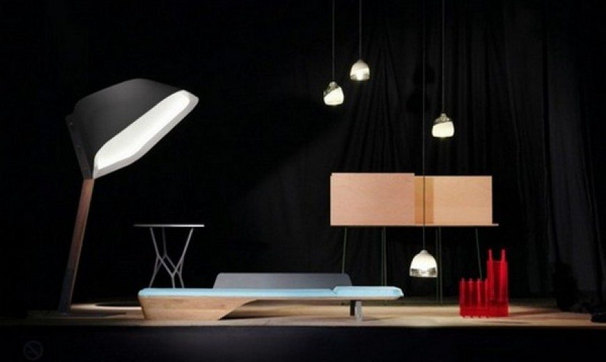 The Fourth Wall furniture scenography