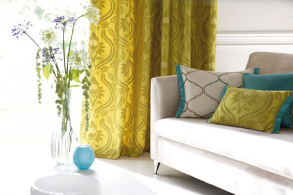 10 modern curtain interior designs - Modern fabrics for curtains ...