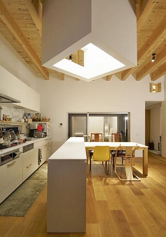 Modern Family House In Japan (80.84 House