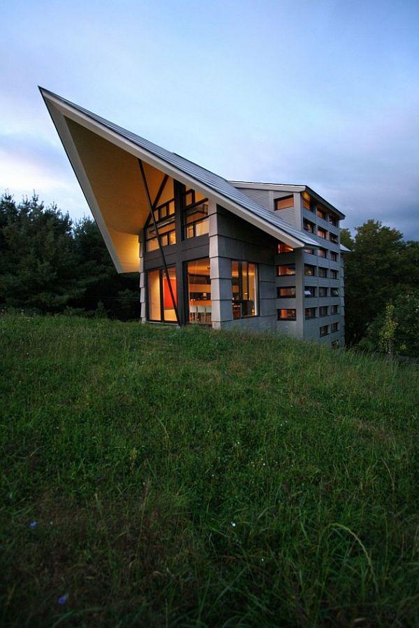 La Cornette by YH2 1 Surprising architecture in a rural area: La Cornette by YH2 Architects