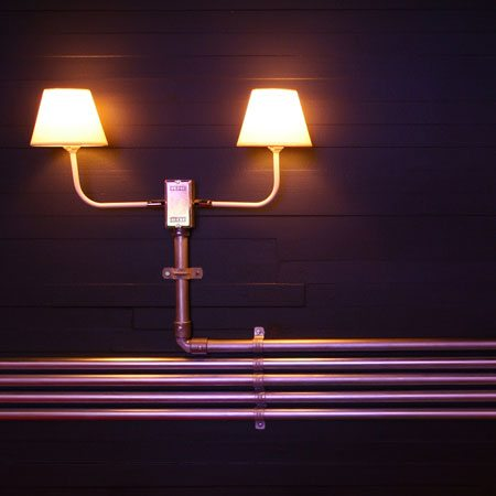 Lighting installation for outdoors and indoors 3