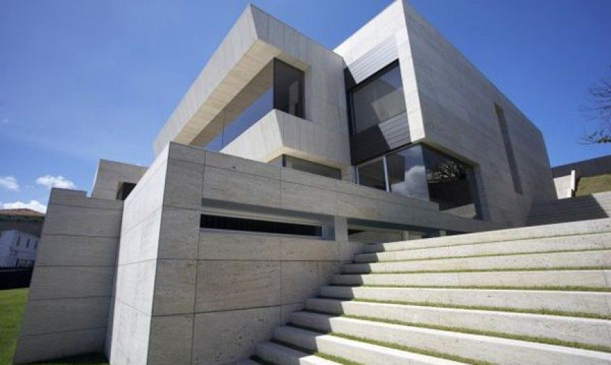 Superb modern residence in Spain by A-cero Architects