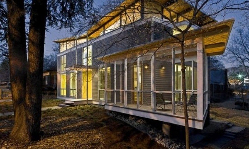 Eco-friendly Residence in Georgia, The RainShine House