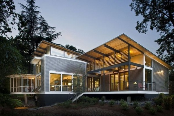 RainShine Eco-friendly House in Georgia 5