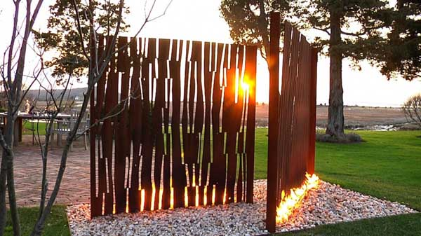 fire 29 Amazing fireplace design by Elena Colombo