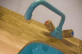 Modern modular recycled kitchen furniture reduces waste